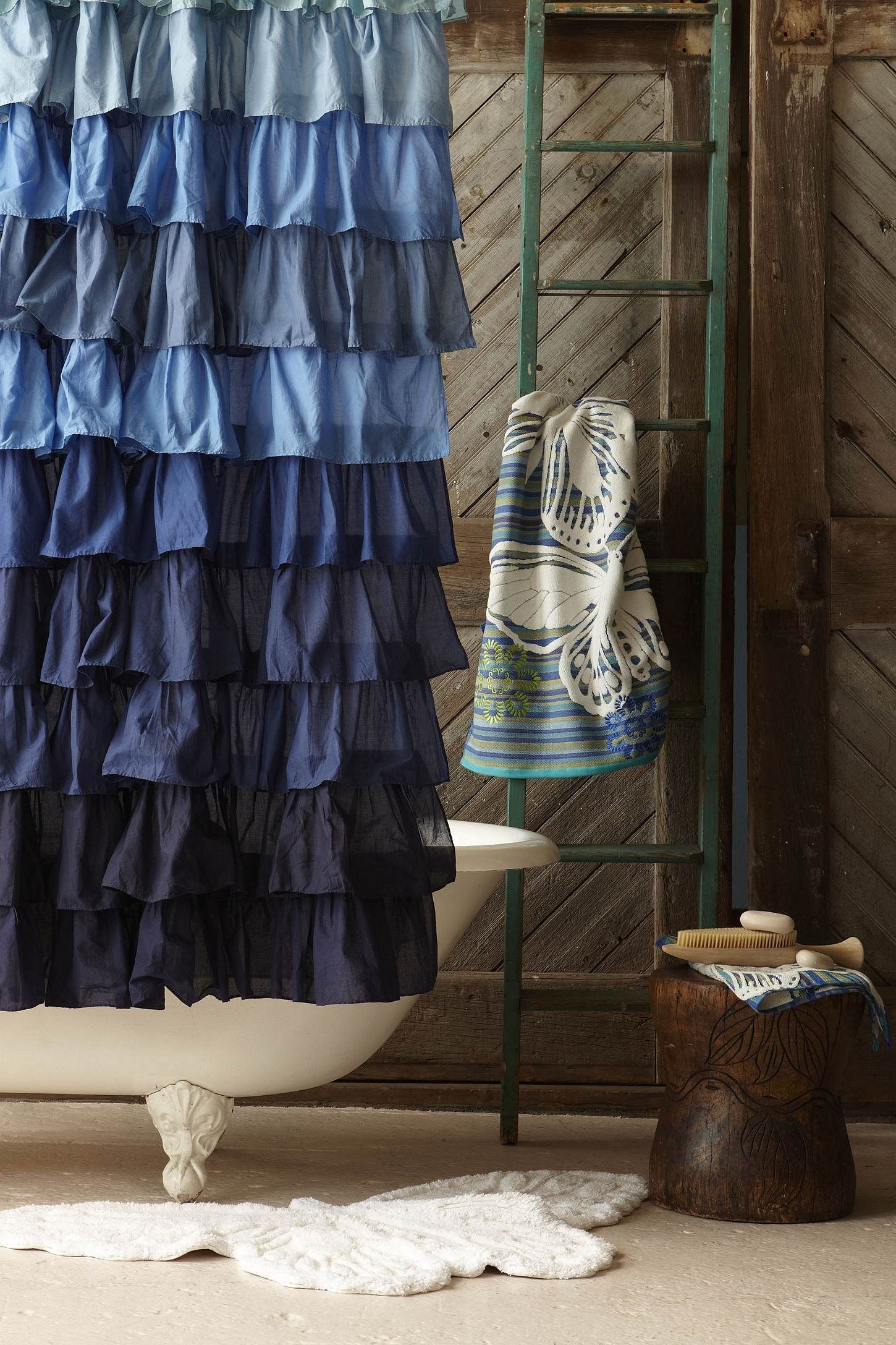 Denim Shower Curtain 3