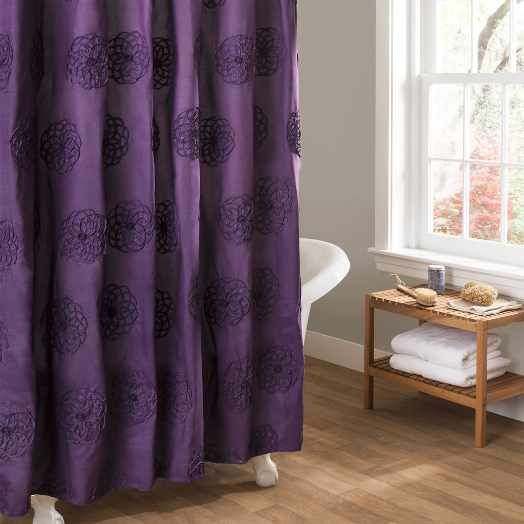 Embroidered Shower Curtain 16