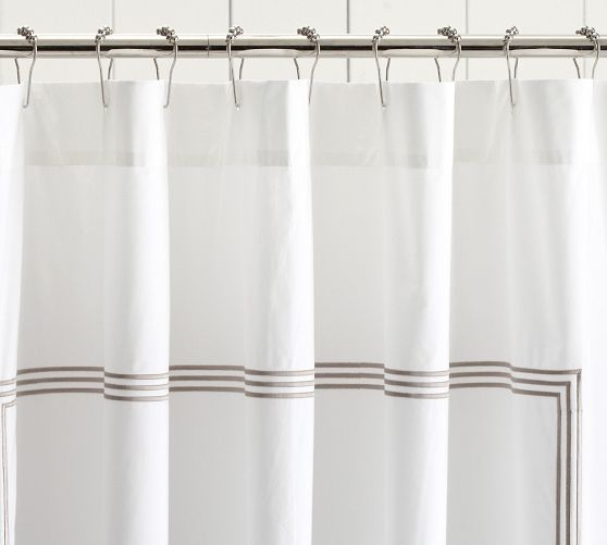 Embroidered Shower Curtain 43