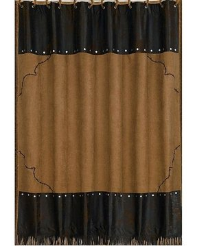 Embroidered shower curtain 7