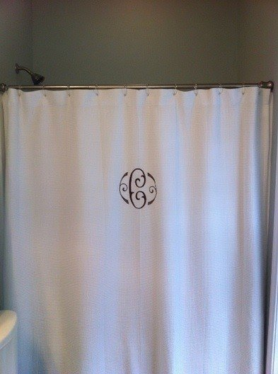 Embroidered Shower Curtain 9