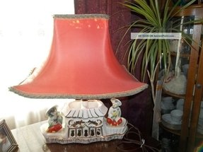 Brass Table Lamp Vintage