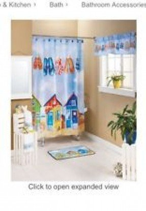 f309a99dc2f7 Flip Flop Shower Curtain - Ideas on Foter