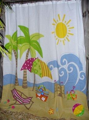 Flip Flop Shower Curtain Foter