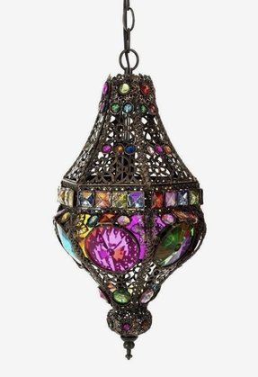 Found colorful bohemian chic hanging lamp on wish check it