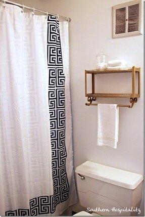 Preferred Greek Key Shower Curtain - Foter KE54