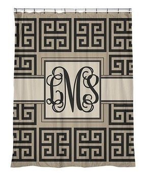 Greek Key Shower Curtain 13