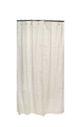 Top Greek Key Shower Curtain - Foter LY33