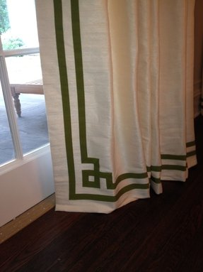 Greek Key Shower Curtain 8