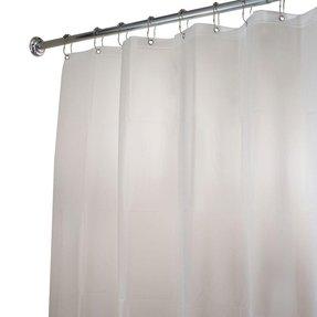 stall size shower curtains foter. Black Bedroom Furniture Sets. Home Design Ideas