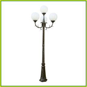 Outdoor lamp post globes foter inch 4 globe four light outdoor lamp post swedish iron workwithnaturefo