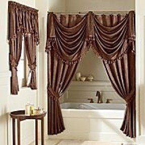Jc penney shower curtain foter - Jcpenney bathroom window curtains ...