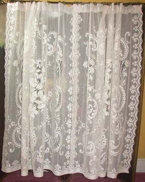 Lace Shower Curtain Foter