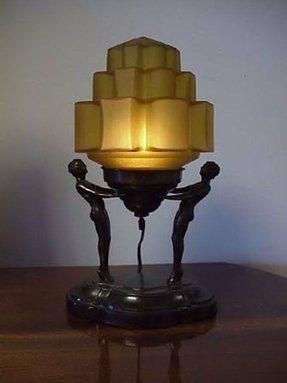 art deco lamp shades foter. Black Bedroom Furniture Sets. Home Design Ideas