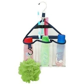 Mesh shower organizer 1