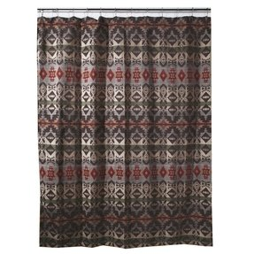 Montana geometric southwest fabric shower curtain jb2095 a great addition