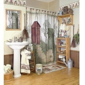 Outhouses Shower Curtain Ideas On Foter