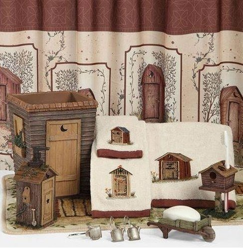 Superieur Outhouses Bathroom Collection Rustic Country Bath Accessories By Linda  Spivey