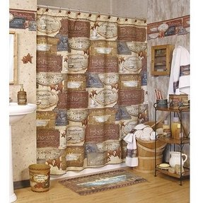 Outhouses shower curtain 4