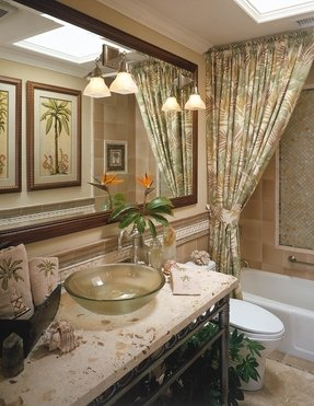 Palm Tropical Shower Curtain Ideas On Foter