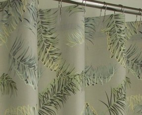 Palm Tropical Shower Curtain 17