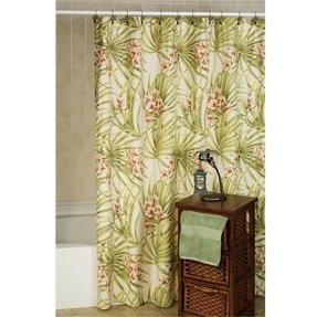 Palm Tropical Shower Curtain 7