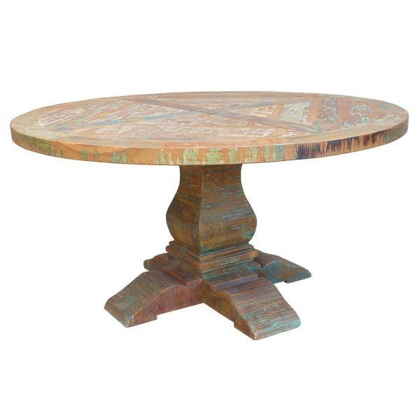 Charmant Round Dining Table Pedestal Base 1