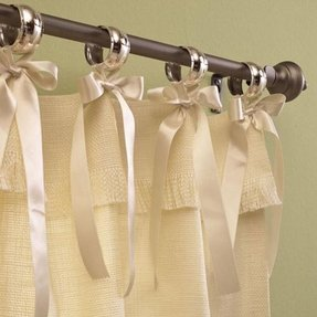 Shabby Chic Ruffle Shower Curtain