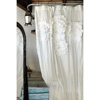 Superieur Shabby Chic Shower Curtain 5