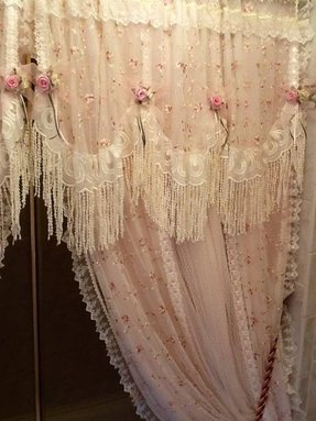 Shabby Chic Shower Curtains 2