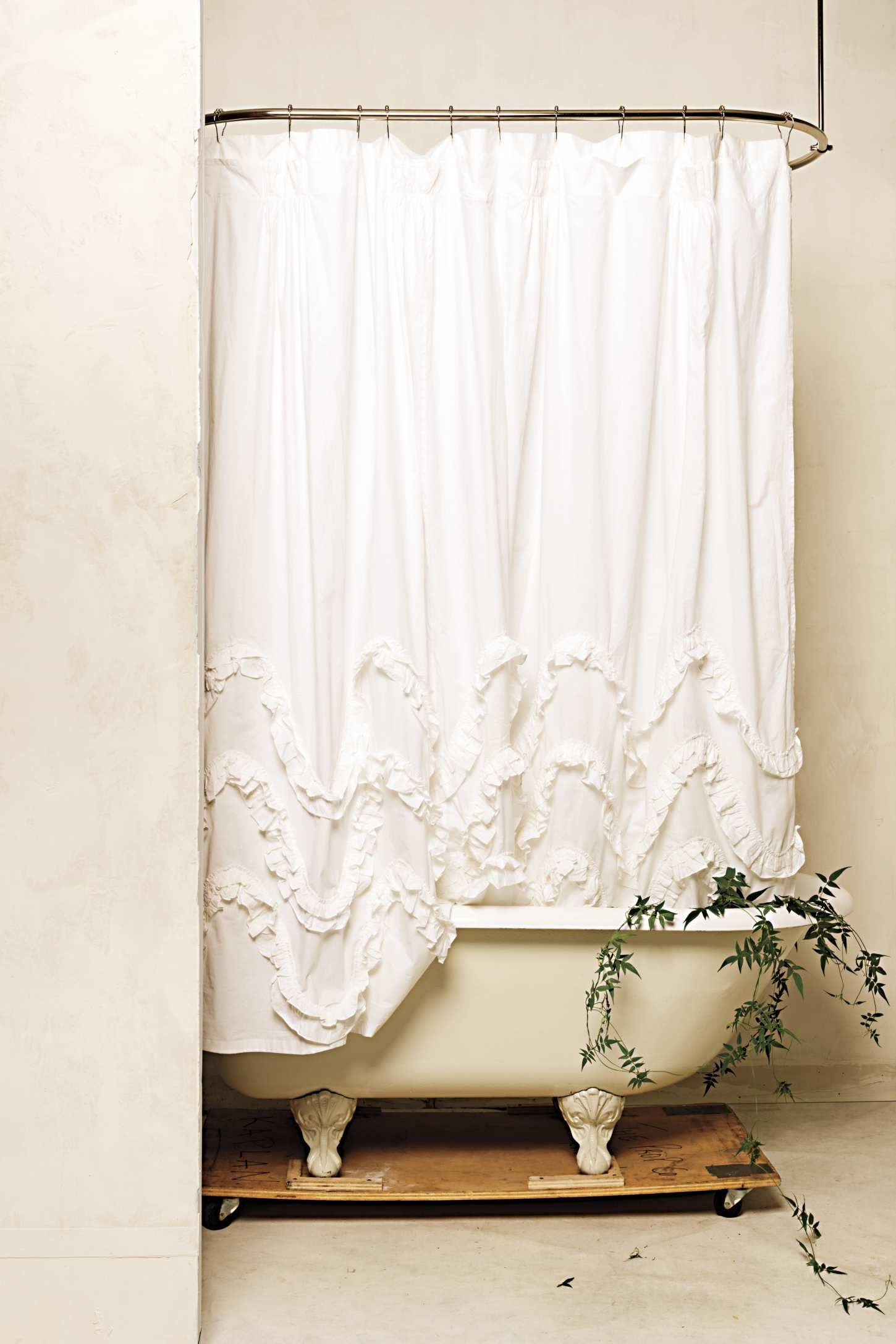 Charmant Shabby Chic Shower Curtains 3