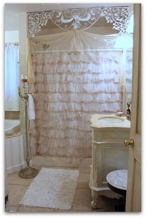 Shabby Chic Shower Curtains - Foter
