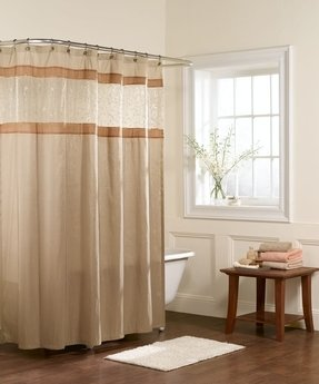 Sheer shower curtain 28