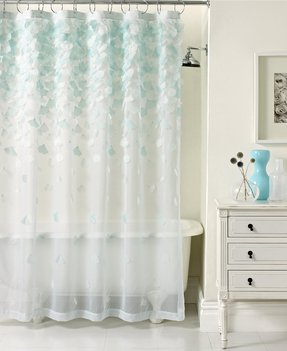 Sheer shower curtains