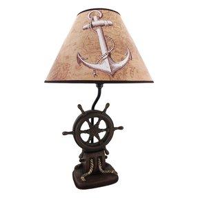 Ships Wheel Lamp Foter