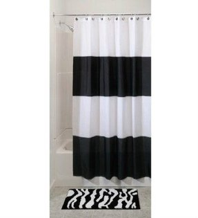 Shower curtain shower stall