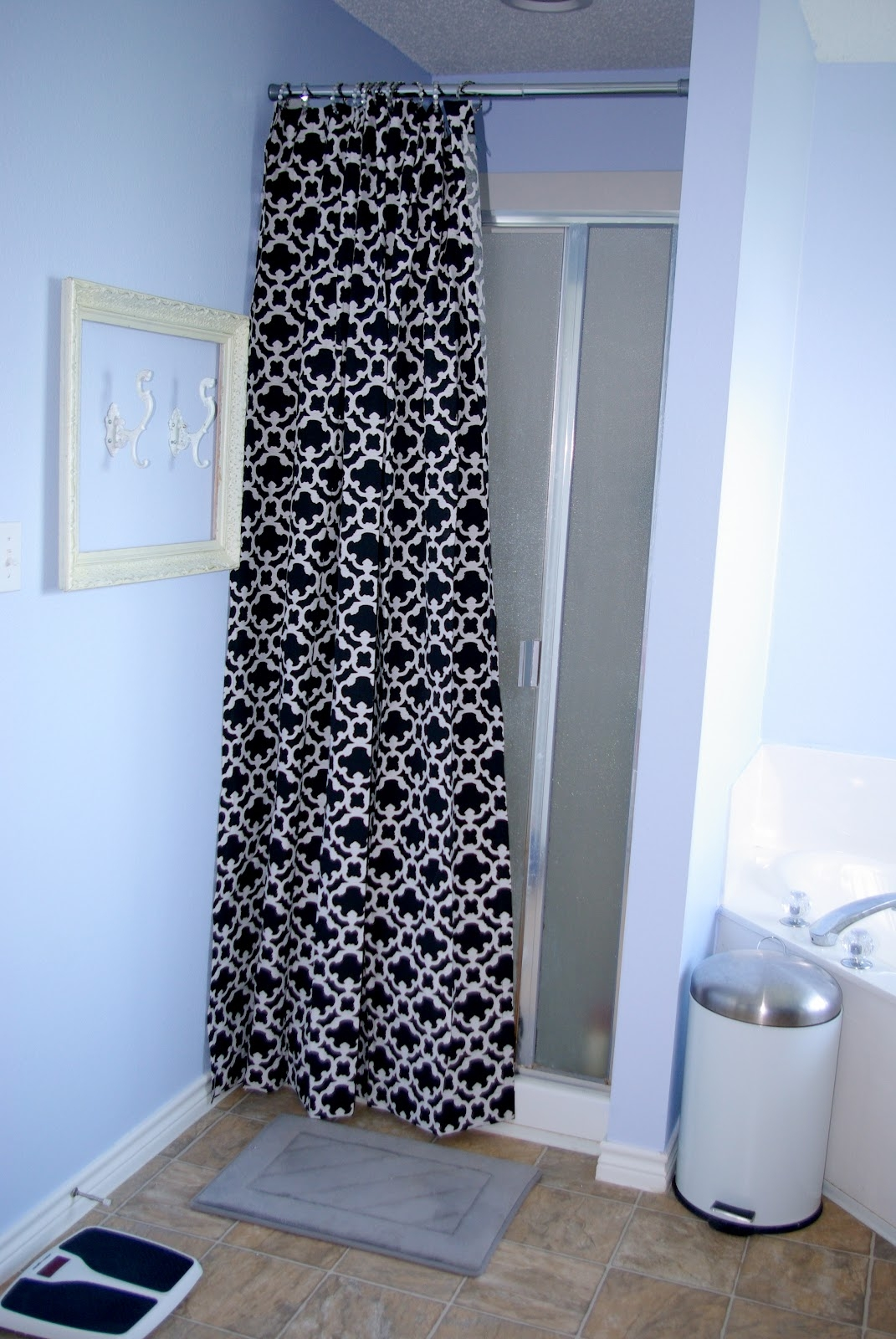 Charmant Shower Curtains For Walk In Showers