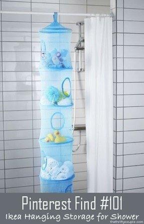 Rv Shower Caddy Ideas