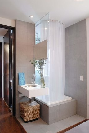 Shower Stall Curtain - Foter