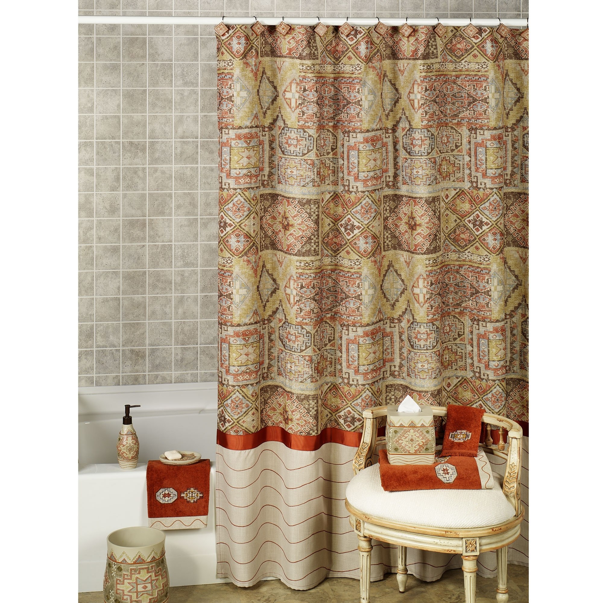 Southwestern Shower Curtain Foter