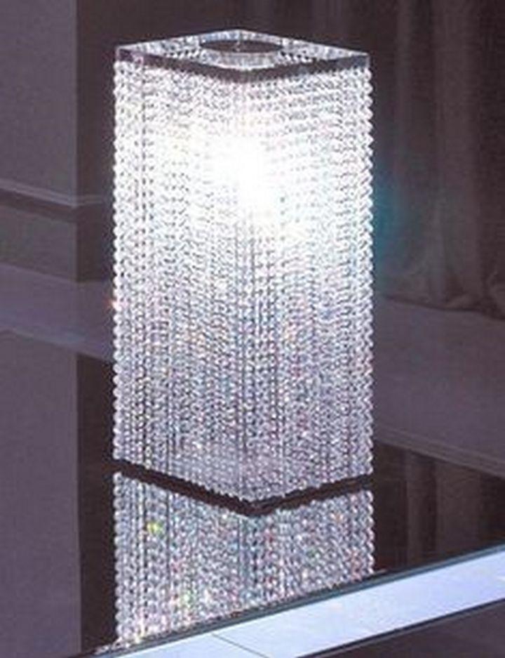 Superb Swarovski Crystal Table Lamp 3