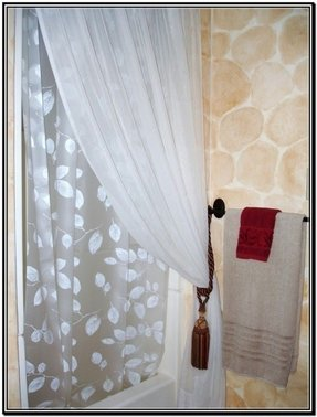Tie Back Shower Curtains Foter