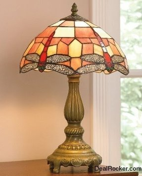 Tiffany look touch lamp