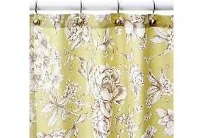 Toile shower curtain 6