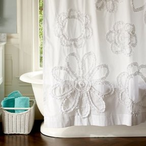 Best Chenille Shower Curtain