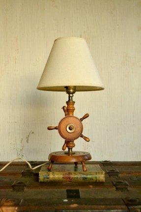 Ships Wheel Lamp - Foter