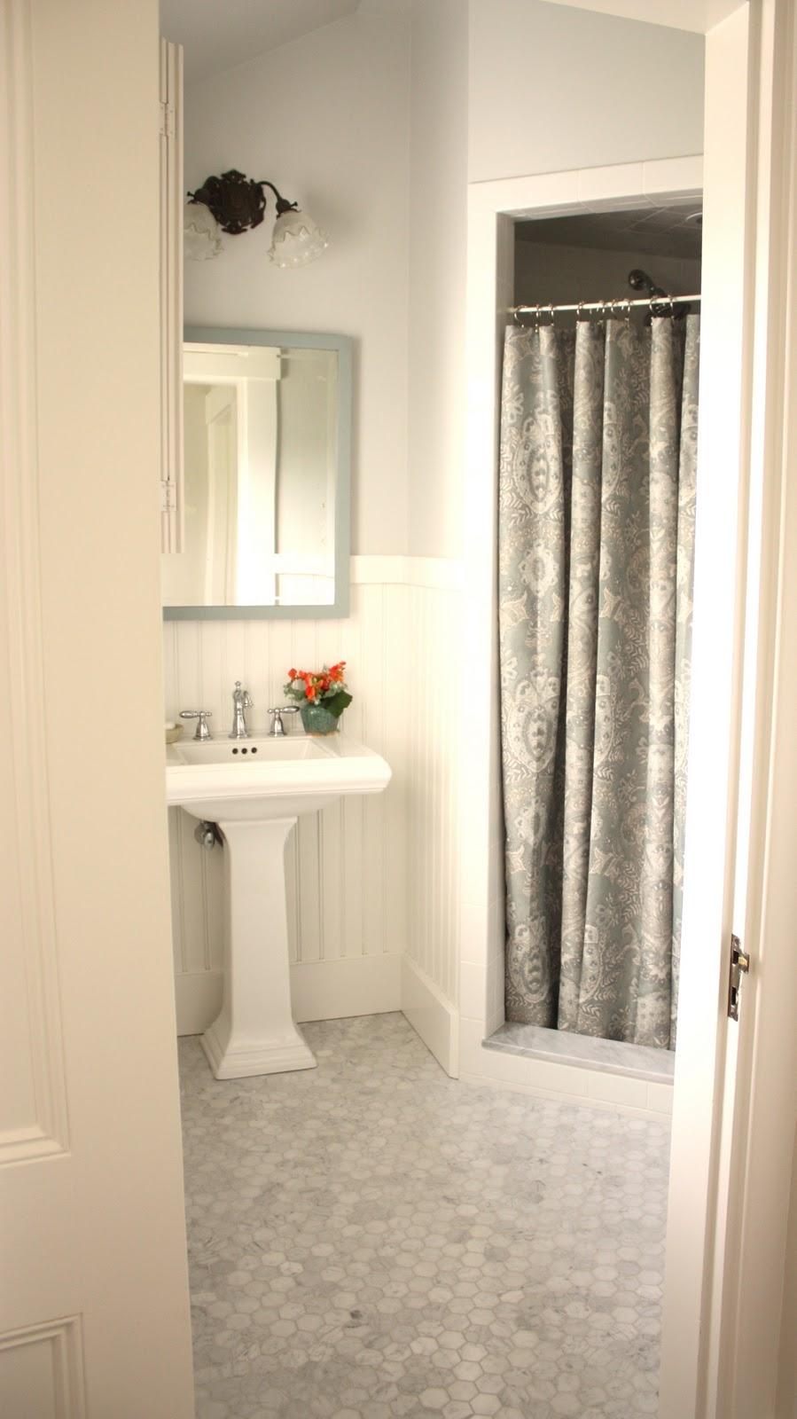 Walk In Shower Curtain