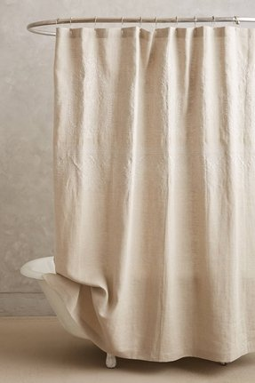 Embroidered Shower Curtain Foter