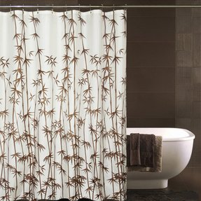 Zen shower curtains