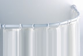 Flat Curved Shower Rod Ideas On Foter